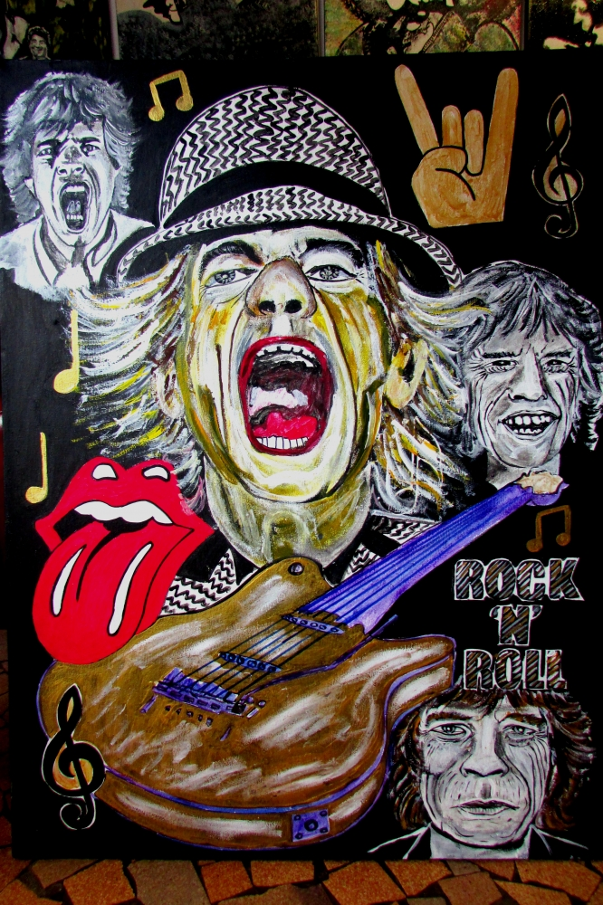 Mick Jagger by JUD